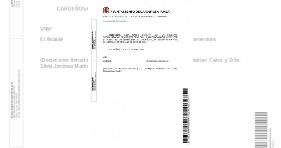 Información pública relativa a aprobación inicial de la Revisión Urbanísticas Municipales