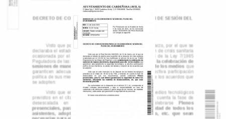 Convocatoria Pleno 20210611