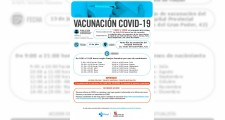 Llamamientos para vacunarse del 12 al 16 de julio
