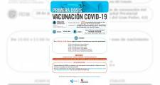 Llamamientos para vacunarse del 26 al 30 de julio