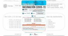Llamamientos para vacunarse del 3 al 6 de agosto
