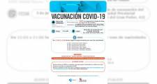 Llamamientos para vacunarse del 5 al 9 de julio