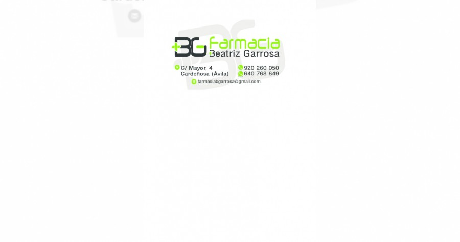Tarjeta Farmacia Beatriz Garrosa