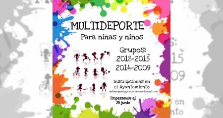 Cartel Multideporte